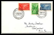 GP GOLDPATH: CARIBBEAN COUNTRY COVER 1940 FIRST DAY COVER _CV593_P01