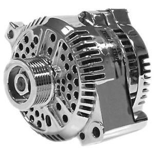Tuff Stuff Alternator 7771AP6G; 3G 150 Amp Polished for 1993-2000 Ford 5.0L V8