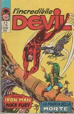 DEVIL  corno  # 75  LA MARCIA DELLA MORTE DI EL CONDOR iron man nick fury shield