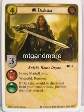 A game of thrones LCG - 1x Darkstar #004 - ice and fire draft Pack
