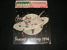 December 1954 Genii The Conjurors Magazine Stage Magic Collectible Santa Cover!