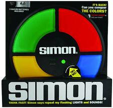 SIMON Electronic Memory Game Brand New Version 10 x 10 x 2 NEW 1896