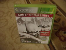 Batman: Arkham City -- Game of the Year Edition  (Xbox 360, 2012)