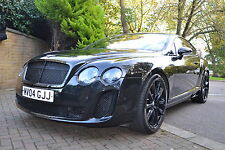 "21"" Bentley GT / GTC SSR Gloss Black alloy wheels and tyres"