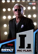 """TNA Ric Flair """"L"""" 2011 Signature Impact RED Event Worn Armani Suit SN 2 of 5"""