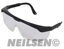 NEW Neilsen Clear Safety Work Industrial Tool Glasses Goggles Eye Protection