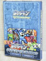 ROCKMAN Illustrated Folder Comp Set Art Illustration Book Ltd Megaman