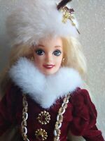 Happy Holidays Special Edition Christmas Barbie Doll Mattel Vintage 1996