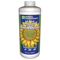 General Hydroponics KoolBloom Liquid 1 Quart 32oz Fertilizer Nutrient Flower
