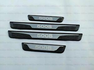 für Peugeot 5008 Zubehör Teile Auto Schutz Einstiegsleisten Beschützer Aufkleber