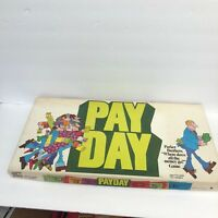 Pay Day Complete Game Parker Brothers Ages 8 + 2 4 players 1975