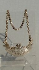 1797 Georgian Madère Decanter silver label Prince of Wales Peter Ann Bateman