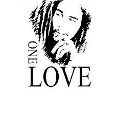 Poster Removable Bob Marley One Love Pvc Diy Vinyl Mural Wall Sticker