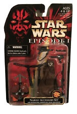 """Star Wars: 'Naboo Accessory Set' for 3.75"""" Action Figure The Phantom Menace 1998"""