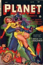 PLANET COMICS #1-73 FULL RUN ON DVD ROM FICTION HOUSE VINTAGE GOLDEN AGE SCI-FI