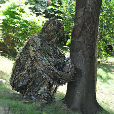 AU Camouflage Ghillie Leaf Suit Kit Woodland 3D Hunting Archery Sniper Clothing