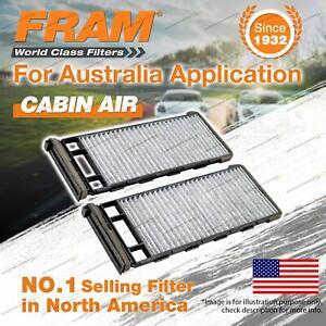 Fram Cabin Filter for Nissan Pathfinder R50 Patrol GU Y61 4Cyl 6Cyl V6 1995-2018