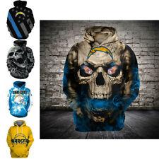 Los Angeles Chargers Fan's Hoodies 3D Printed Sweatshirts Pullover Jacket Coat