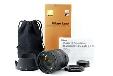 Nikon AF-S DX 18-200mm f/3.5-5.6 G ED VR Zoom Lens w/ Box [Exc JAPAN 621680