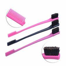 Eyebrow Brush Beauty Double Sided Edge Control Comb Eyelash Hair Styling Brushes