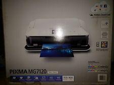 Brand New CANON PIXMA MG7120 Wireless All-In-1 Color Inkjet Photo Printer -White