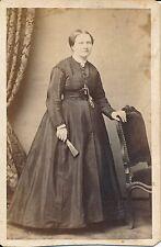 CDV c. 1870 - Photo Lyon  Femme élégante - 1222