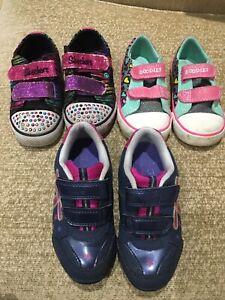 Girls First Shoes Bundle Size Infant UK 7