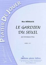 MEREAUX, Le gardien du seuil pour Contrebasse et Piano