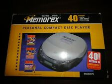 MEMOREX Portable Personal Compact Disc Player #MD6422CPS NEW!!!