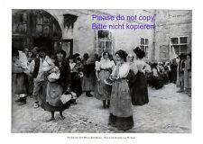 Findelhaus Wien XL Kunstdruck 1914 von W. Gause Findelkind Babyklappe schwanger