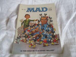 MAD MAGAZINE U.K. EDITION No 123 WE TEAR APART WILLARD