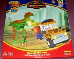 Best-Lock Construction Toys - DINOSAURS Safari- 162 Piece Other Block Compatible