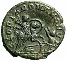 """Magnentius AE Centenionalis """"GLORIA ROMANORVM Emperor on Horseback"""" Trier gVF"""