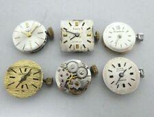 Vintage Felsa 4520 Ladies movement with dial Movement 17 jewels fur parts (E71)
