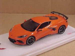 TRUESCALE #TSM430495 1/43 2020 Corvette Stingray C8, Sebring Orange Tintcoat