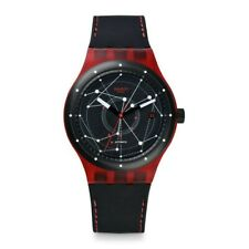 Swatch Automatic SISTEM51 red. SUTR400
