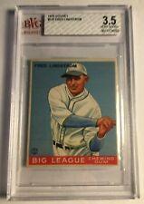 1933 GOUDEY #133 Fred Lindstrom BVG 3.5 VG+ Boston Braves PSA Fresh Graded