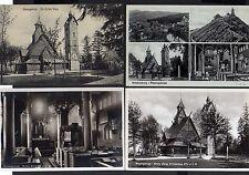 109560 7 AK Kirche Wang Altar Bergkirche Innenansicht Gedicht ca. 1910 - 1940