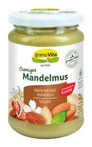 Mandelmus - 100 % Mandeln 500 g (23,98€ per Kg)
