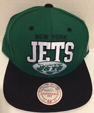 NEW YORK JETS NFL HAT MITCHELL & NESS Adjustable fit