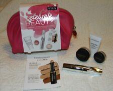 BAREMINERALS Celebrate Beauty Pink Gift Bag Set Mineral Veil Primer Mascara NEW!