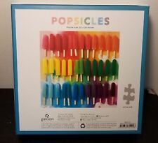 Galison POPSICLES 500 Piece Jigsaw Puzzle, Julie Seabrook, Excellent.