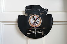 Morris Traveller vinyl record wall clock bedroom playroom office club home art