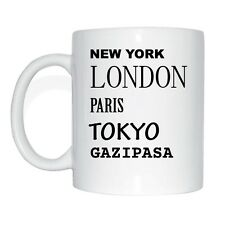 New York, London, Paris, Tokyo, GAZIPASA Cup Of Coffee