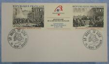 enveloppe du premier jour, bicentenaire de la révolution, lot de 50 identiques