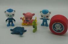 Mattel Octonauts Action Figures Lot Of 3 & Accessories