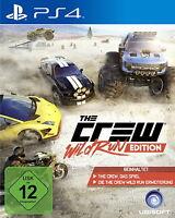 The Crew - Wild Run Edition (Sony PlayStation 4, 2015) Wie Neu Top USK 12
