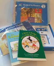 Hooked on Phonics Learn To Read Reading Program Level 5 Cassette Workbook Cards