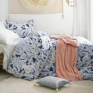 NEW POTTERY BARN TEEN PRETTY LUNA PAISLEY DUVET COVER DORM