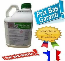 Désherbant Herbicide GLYPHOSATE 5L Barbarian SUPER 360 jusqu'à 1666 m2 ENVOI 24H